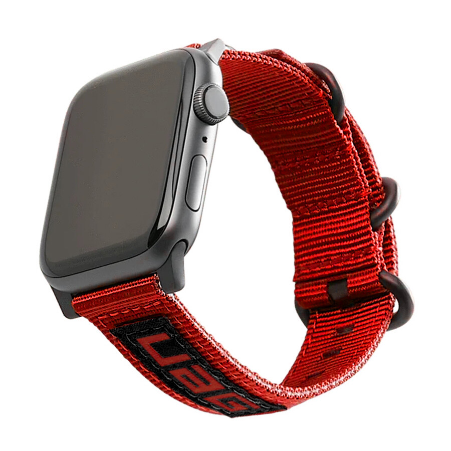 NATO Watch Strap for Apple Watch - Red