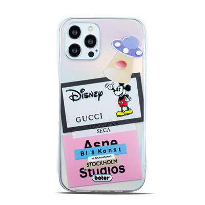 Clear Mickey Cool Case
