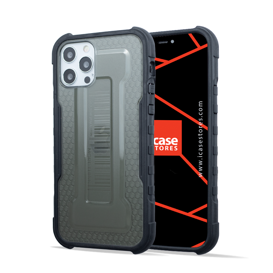 Hybrid Shockproof Case - Armor Rugged, Protective and Slim Tough Grip - Black
