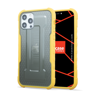 Hybrid Shockproof Case - Armor Rugged, Protective and Slim Tough Grip - Yellow
