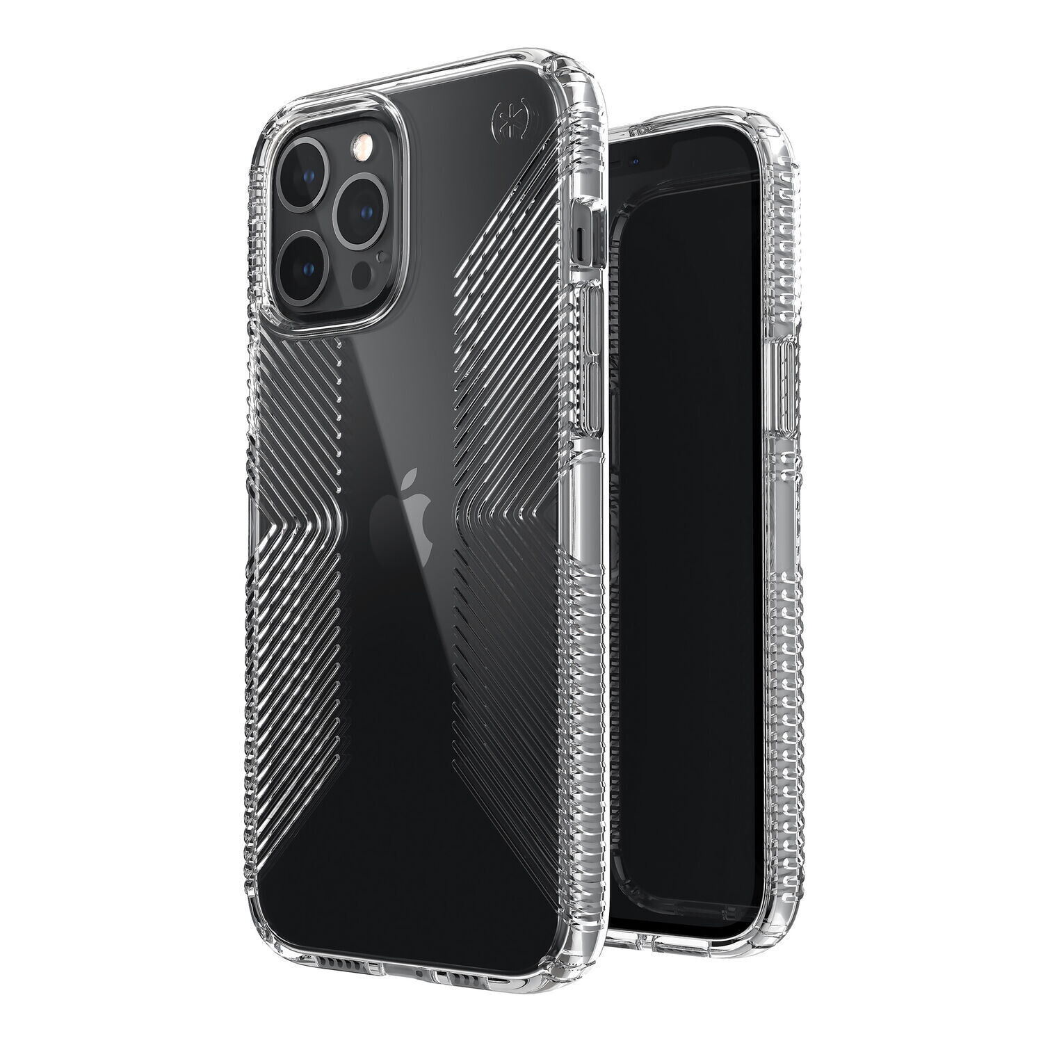 Presidio Perfect-Clear Case with Grips