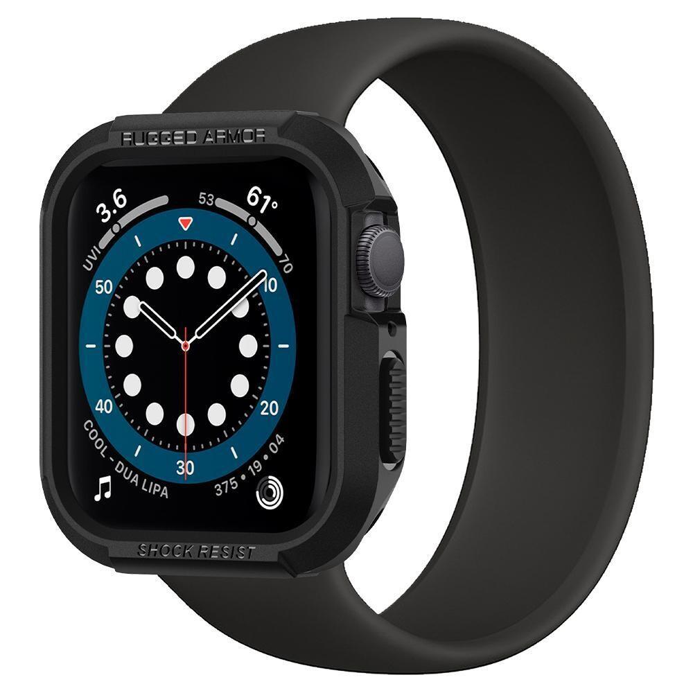 Spigen Rugged Armor Case for Apple Watch - Black