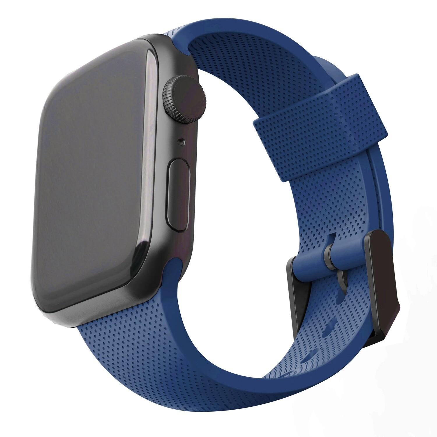 [U] DOT SILICONE STRAP FOR APPLE WATCH - Blue