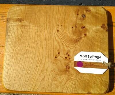 Hardwood Collection-Pippy English Oak Bread Board