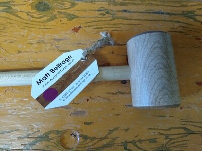 Hardwood Collection-Ripple Sycamore Meat Hammer