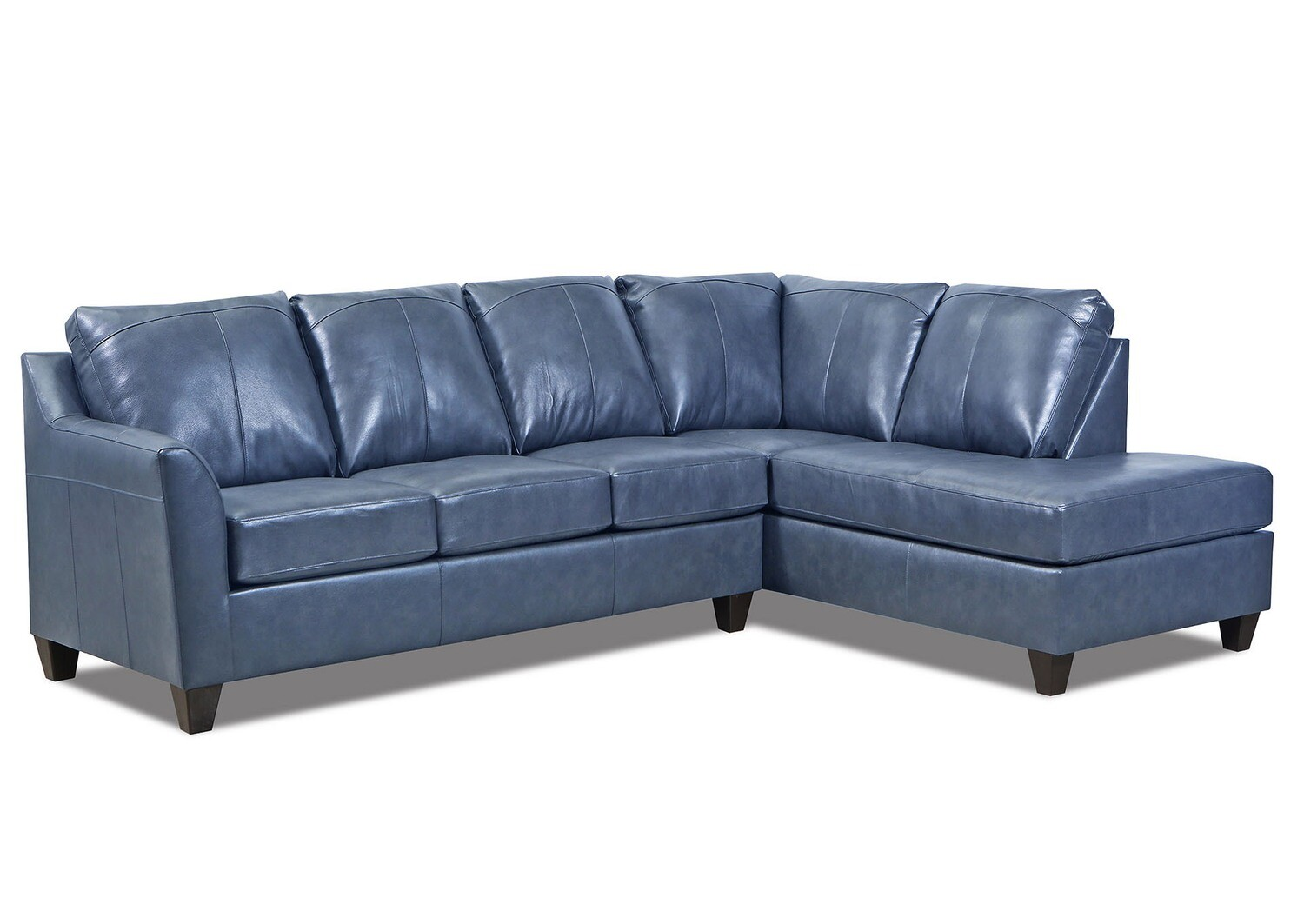 2029 Lane Furniture Leather Shale Sectional