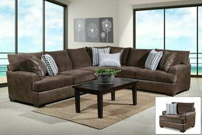 Winston Saddle 2 pc Sectional