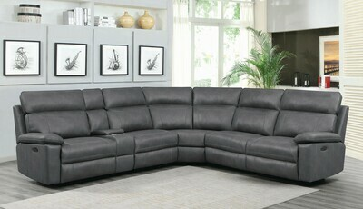 603270PP GREY POWER SECTIONAL