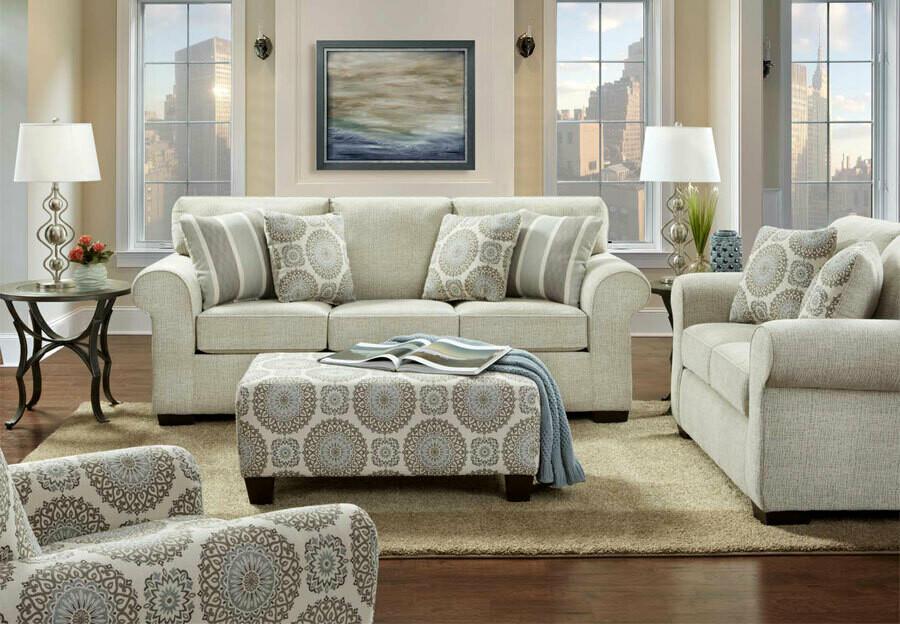 Charisma Linen 2Pc ( Sofa + Love)