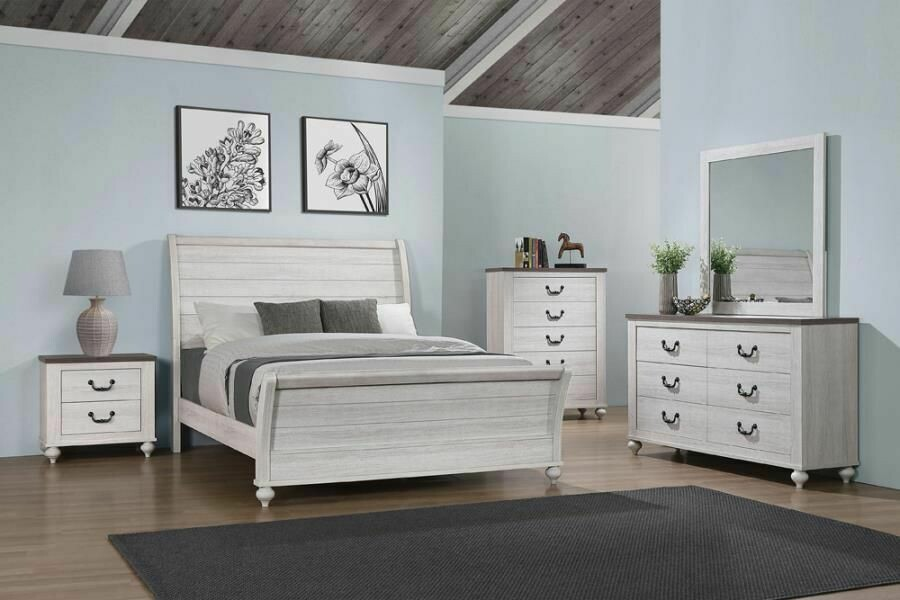 223281Stillwood 5PC SET (Q.BED,NS,DR,MR,CH)