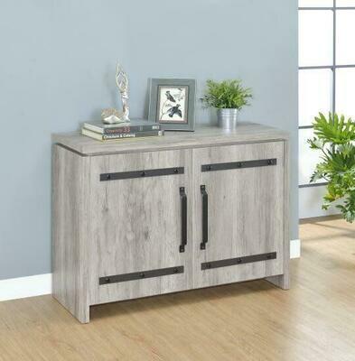 2-door TV Stand Grey Driftwood