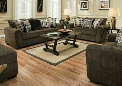 9182 Parks Tiger Eye 2Pc (Sofa + Love)