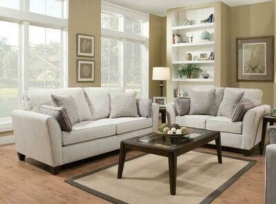 7081 Bennington Stone 2Pc (Sofa + Love)