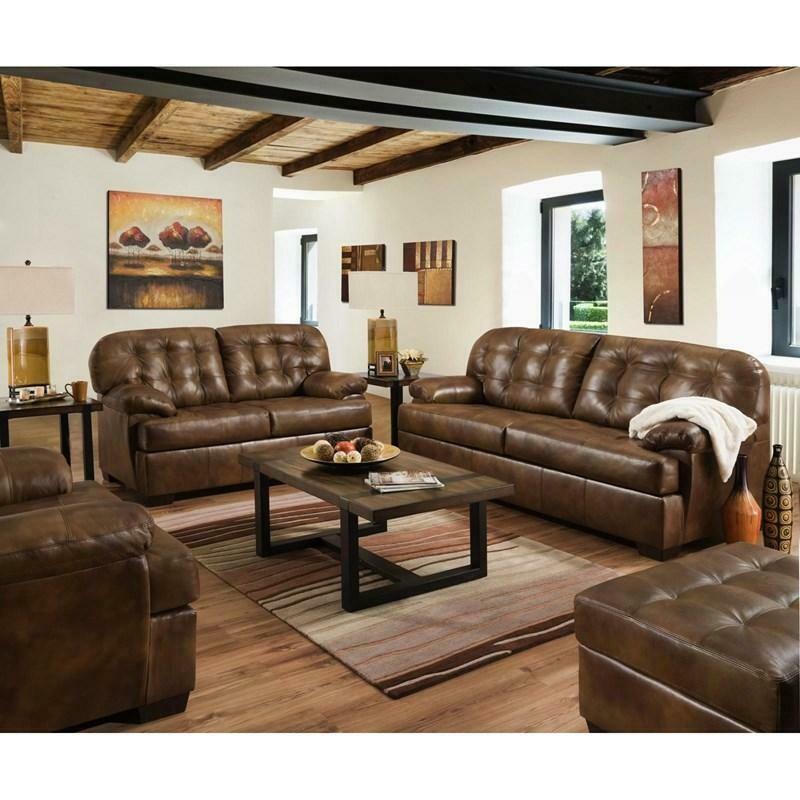 2037 Lane Furniture Leather 2Pc (Sofa + Love)