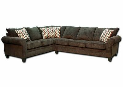 1647 Albany Mocha Sectional