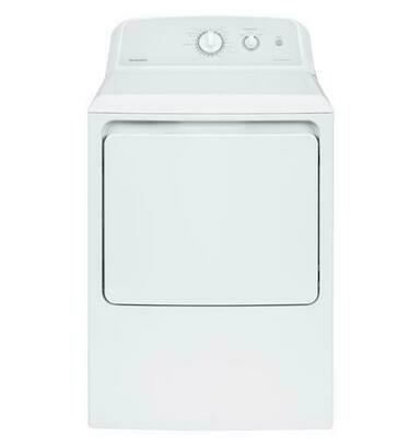 GE® GTD42EASJWW 7.2 cu. ft.  Electric Dryer
