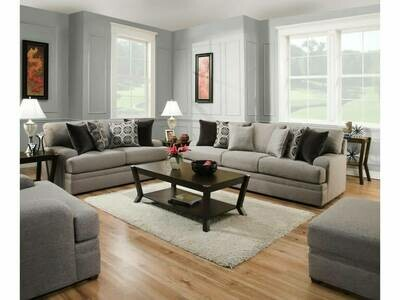8561BR Pembroke Slate 2Pc (Sofa + Love)