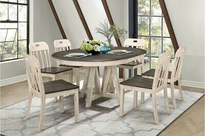 5656 Clover 7Pc Set (Table+6Chairs)