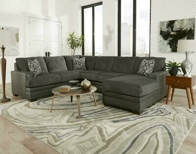 2720 Stallion Charcoal Sectional