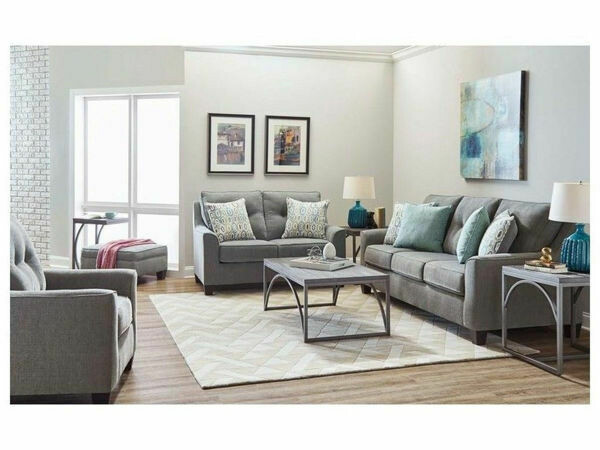 2019 Surge Smoke 2Pc (Sofa + Chair)