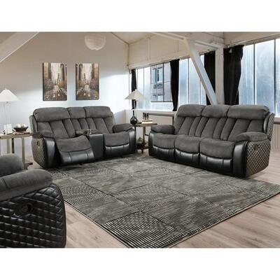 Polo Dual PowerReclining 2Pc (Sofa + Love)