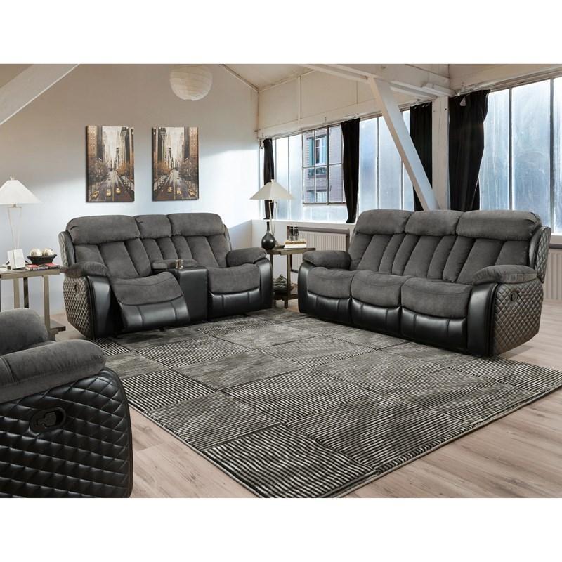 5765 Polo Dual Reclining 2Pc (Sofa + Love)
