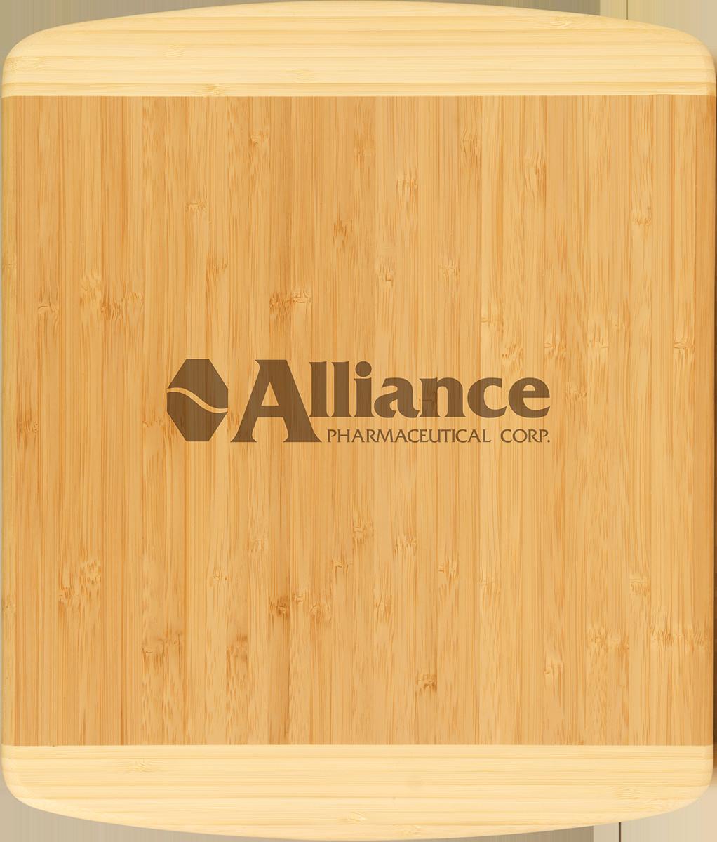 Customized 2-tone Bamboo Cutting Board