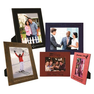 Personalized Leather Photo Frames