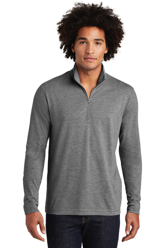PosiCharge Tri-Blend Wicking 1/4 Zip pullover