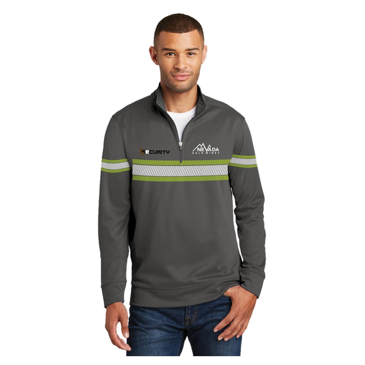 Port &Company 1/4 zip jacket