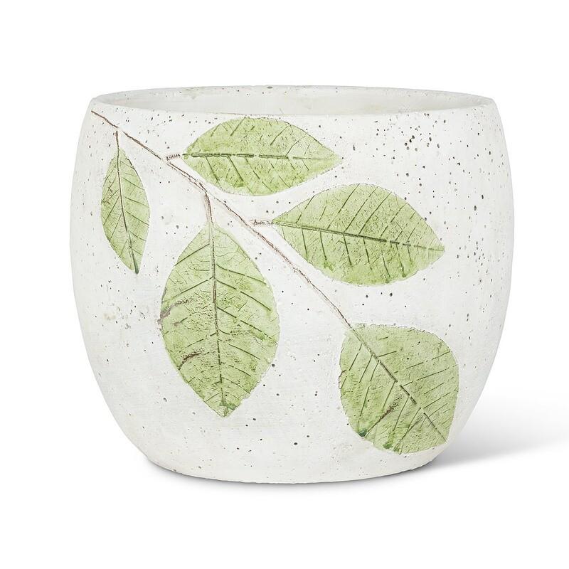 """Leaf Planter Pot - 6"""""""