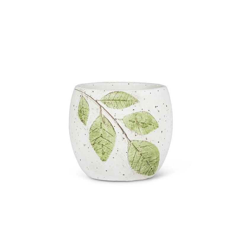 """Leaf Planter Pot - 4"""""""