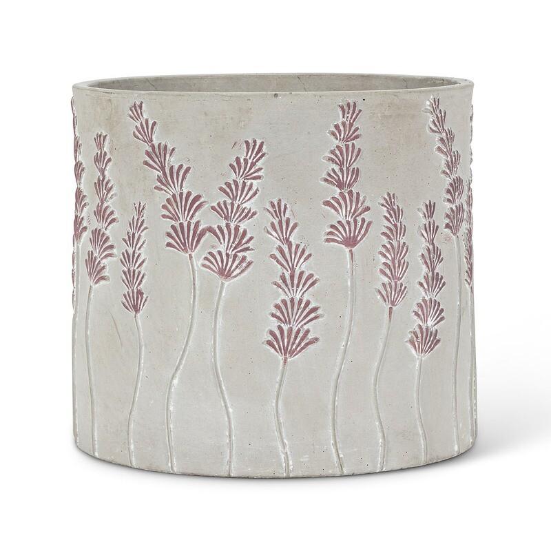 """Lavender Planter Pot - 6"""""""