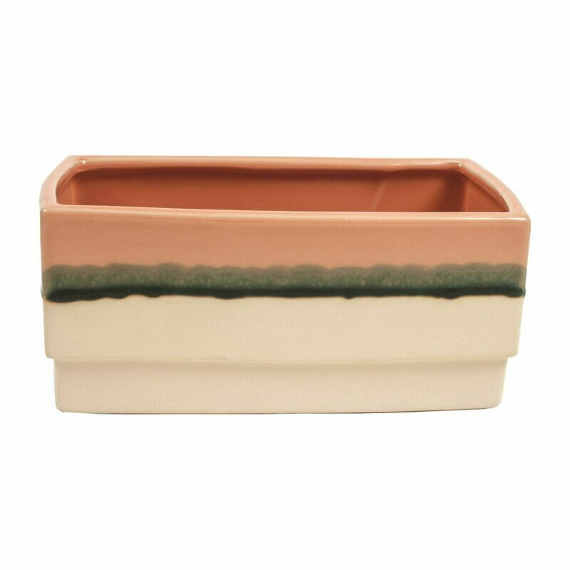 """Rectangle Sunset Pot Cover Fits 2, 4"""""""