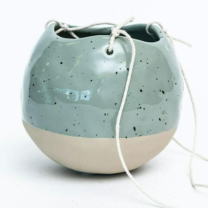 """Pottery Aqua Hanger 4"""""""