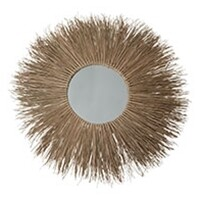 Large Boho Grass Mirror