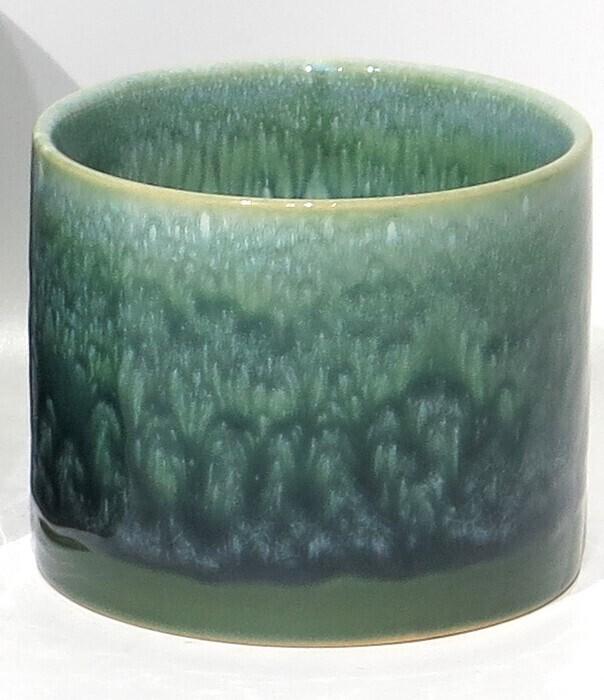 "4"" Green Glaze Ceramic"