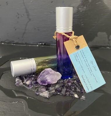 Aqua Blend with Amethyst