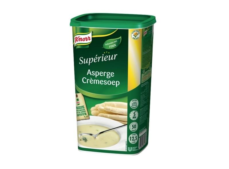 Asperge crémesoep supérieur Knorr