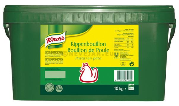 Kipbouillon pasta 10 kg knor