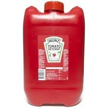 Tomaten ketchup heinz 5.1 L can