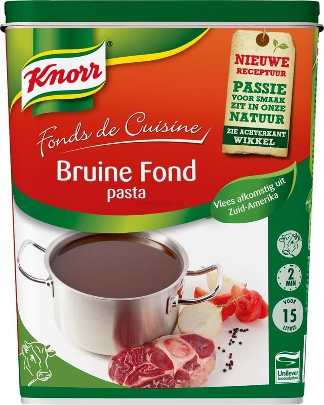 Bruine fond 1 kg Knorr
