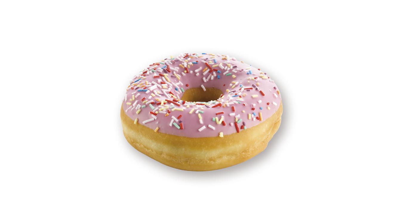 Donuts roos 48 x 58gr DP4168