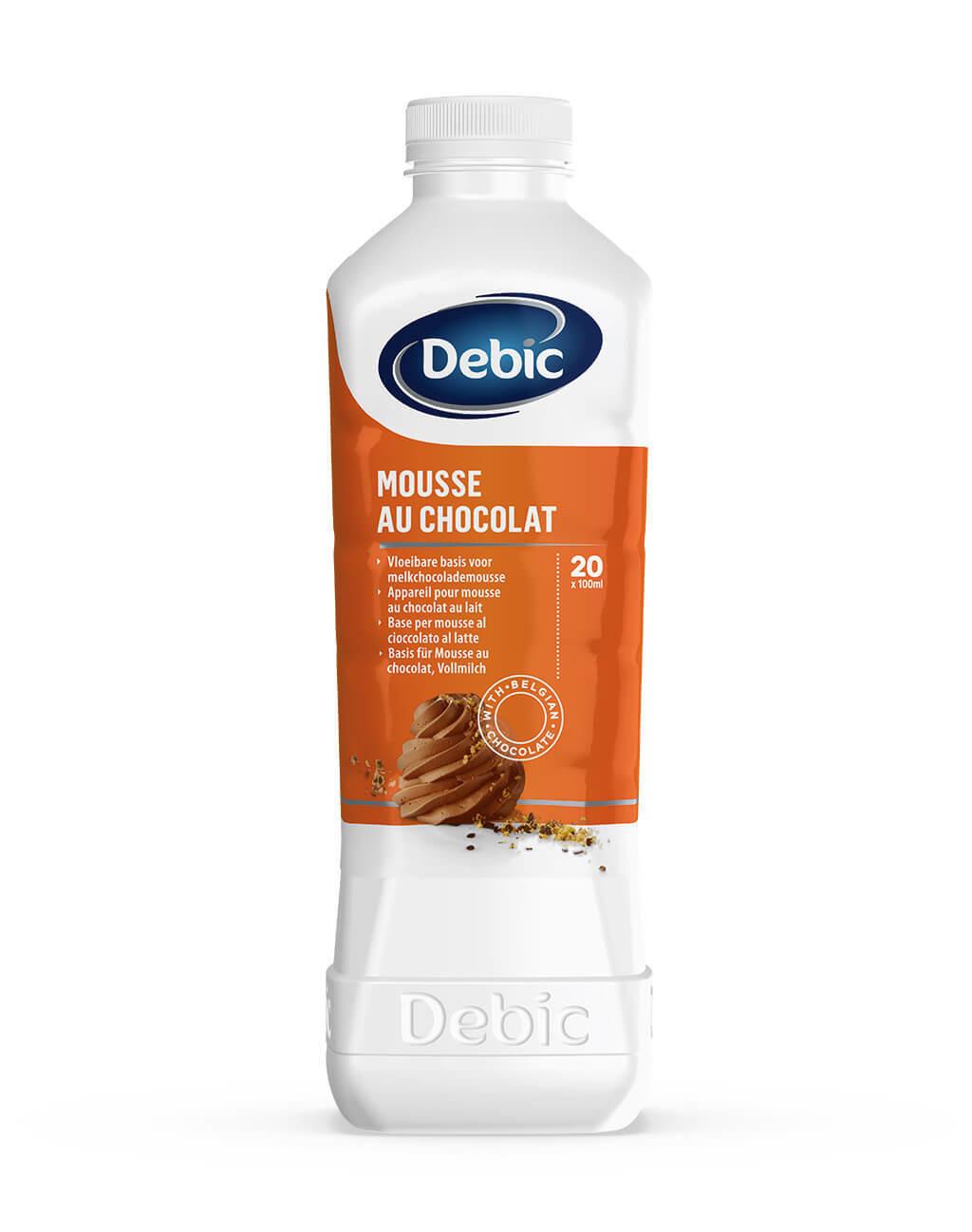 Chocolade Mousse 1 l  Debic
