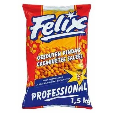 Gezouten pinda's Felix 1.5 kg