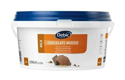 Chocolade Mousse 2.5L melk schepklaar Debic