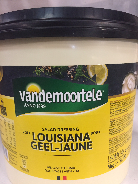 Louisiana 5 l geel