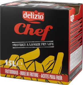 Chef frituurolie 15L can Delizio