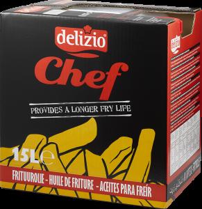 Chef frituurolie 15L can Delizio