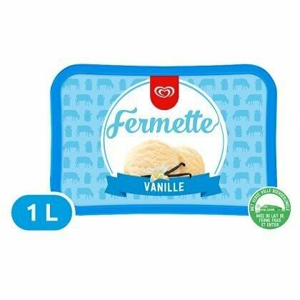Fermette vanille 1 l
